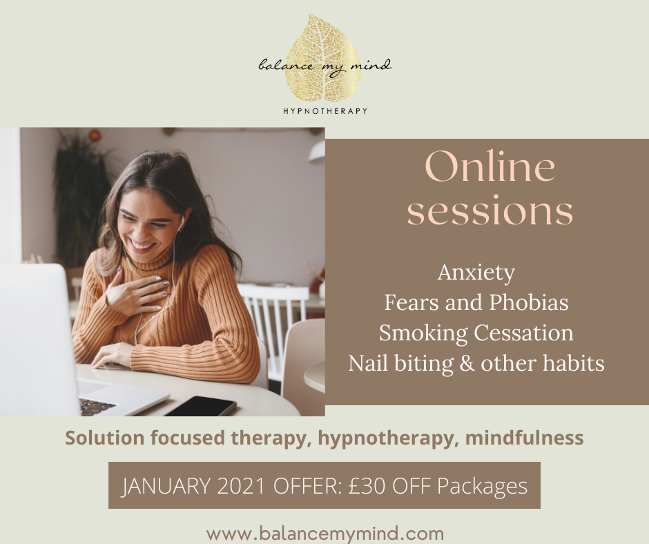 hypnotherapy smoking cessation anxiety